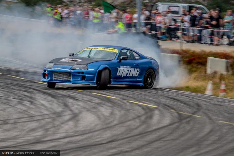 Fredrik Myhre - Toyota Supra V8 Turbo - KNA Vålerbanen