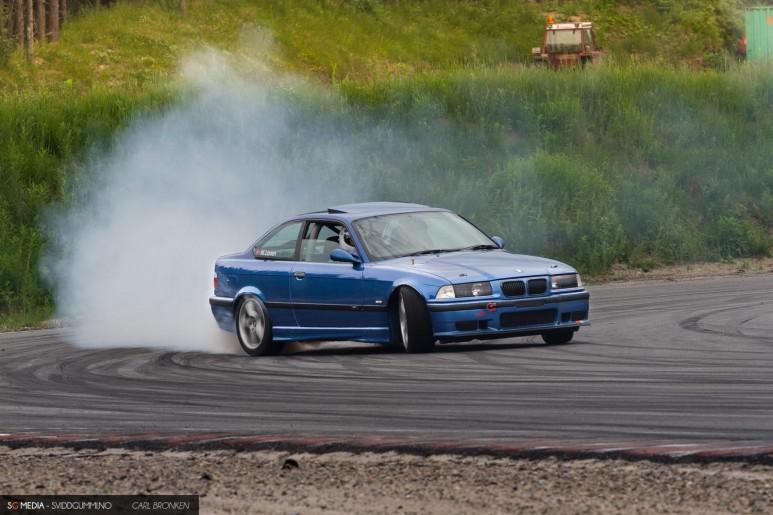 Mathias Larsen - BMW E36 M3 - NAF Motorsport Kristiansand