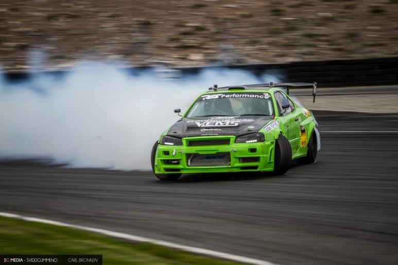 Kenneth Nornes - Nissan Skyline R34 - NAF Motorsport Indre Sogn