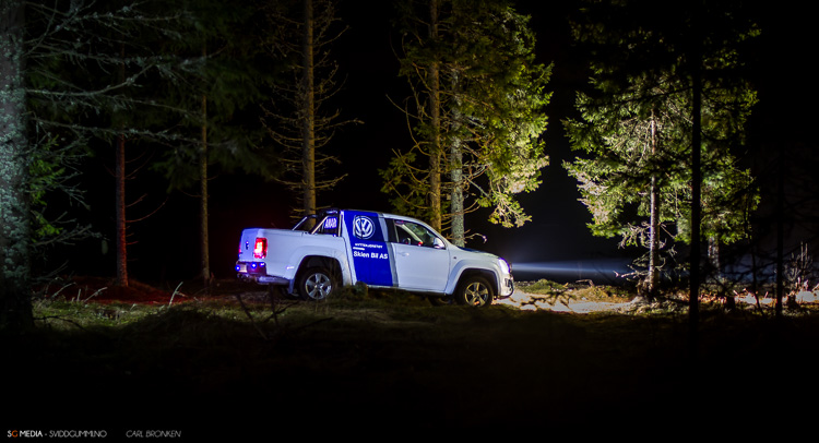 Photoshoot VW Amarok. (25. Februar - Grenland)