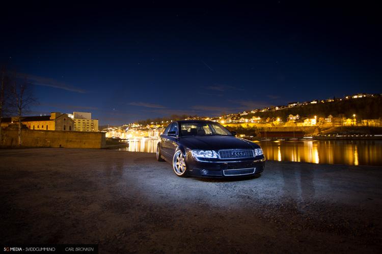 Photoshoot Audi A4. (12. Mars - Grenland)