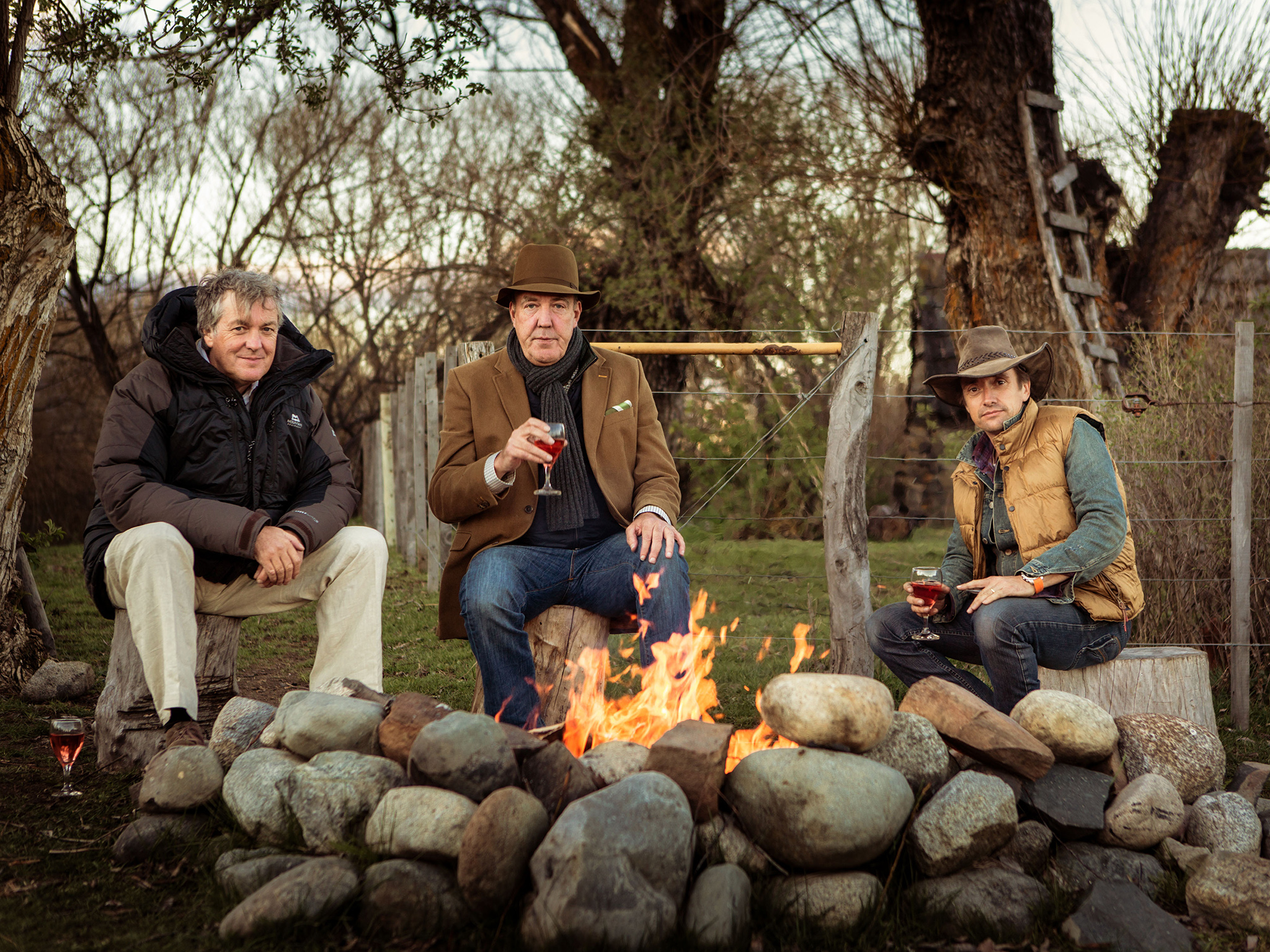 WARNING: Embargoed for publication until: 25/11/2014 - Programme Name: Top Gear - TX: n/a - Episode: Christmas (No. 1) - Picture Shows: Christmas 2014 James May, Jeremy Clarkson, Richard Hammond - (C) BBC - Photographer: Rod Fountain